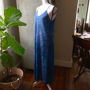 Oscar De La Renta Chiffon Dress/Beach/Sleepwear